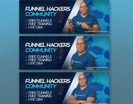 #34 for Facebook Group Cover Photo for Funnel Hackers Community by akidmurad