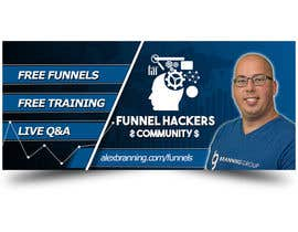 #45 for Facebook Group Cover Photo for Funnel Hackers Community by EbelaStudio