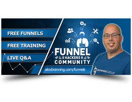 #58 for Facebook Group Cover Photo for Funnel Hackers Community by EbelaStudio