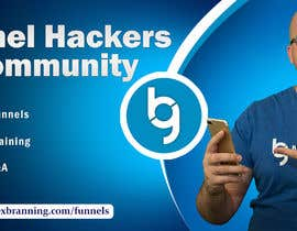 #59 for Facebook Group Cover Photo for Funnel Hackers Community by SifatSabbir