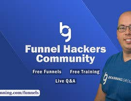 #64 for Facebook Group Cover Photo for Funnel Hackers Community by SifatSabbir