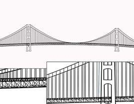 #1 para Detailed drawing of this bridge and photo of lady cropped. por faisalalamapu