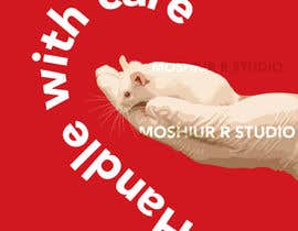 #29 for Art/print with mouse (animal) and text af Moshiur0101