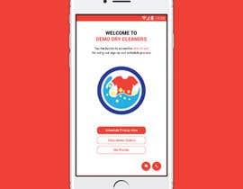 #5 for Design welcome page for app af DiponkarDas