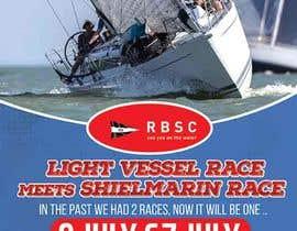 Nro 14 kilpailuun Create a boat race poster käyttäjältä maidang34