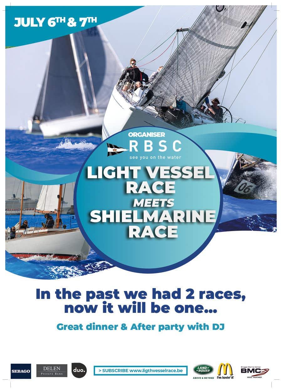 Kilpailutyö #17 kilpailussa Create a boat race poster