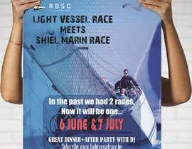 Nro 20 kilpailuun Create a boat race poster käyttäjältä riyad4675