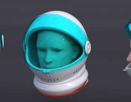 nº 15 pour Plastic Astronaut helmet with visor with 3D printable file in STL format par alders5991
