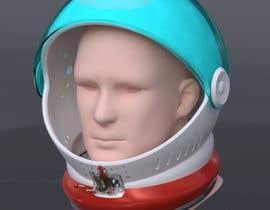 nº 20 pour Plastic Astronaut helmet with visor with 3D printable file in STL format par alders5991