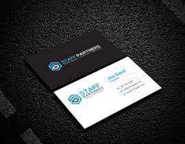 TahminaB tarafından Business Cards needed for Staff Partners için no 109