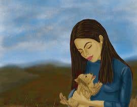 Nro 35 kilpailuun Children's Book illustrations- About a small dog käyttäjältä wendyzabaleta