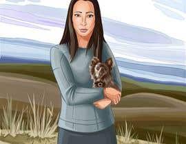 Nro 32 kilpailuun Children's Book illustrations- About a small dog käyttäjältä avtdevteam