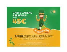 Nro 10 kilpailuun Création d'une offre facebook pour la Saint Patrick käyttäjältä aalimp