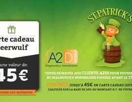 Nro 9 kilpailuun Création d'une offre facebook pour la Saint Patrick käyttäjältä Reffas