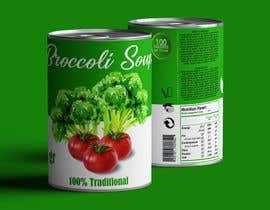 "#40 pentru I need a logo for a 2D artist. It must be a soup can with a ""Broccoli Soup"" title. de către danieledeplano"