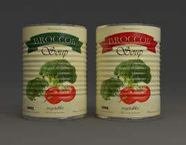 "#34 pentru I need a logo for a 2D artist. It must be a soup can with a ""Broccoli Soup"" title. de către coc3dart"