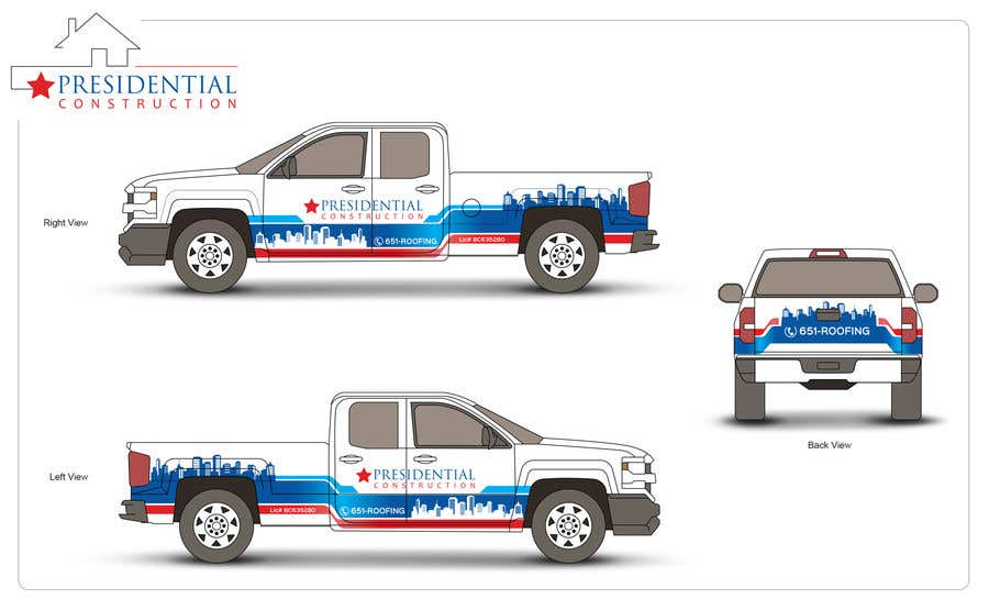 Proposition n°183 du concours Professional Business Vehicle Wrap ($625.00)