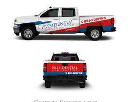 nº 110 pour Professional Business Vehicle Wrap ($625.00) par Lilytan7