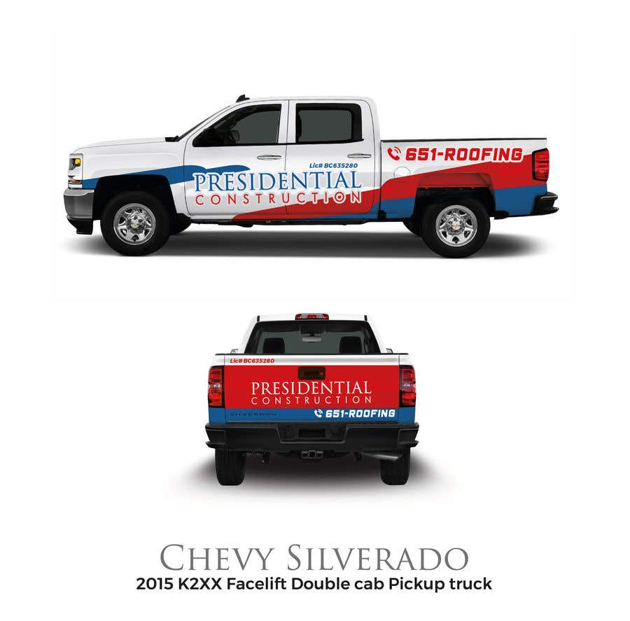 Proposition n°112 du concours Professional Business Vehicle Wrap ($625.00)
