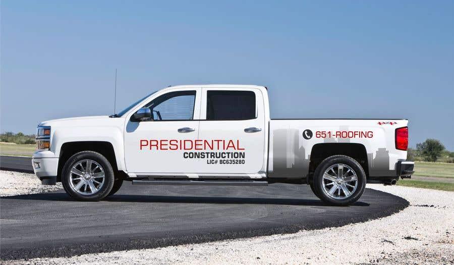 Proposition n°134 du concours Professional Business Vehicle Wrap ($625.00)