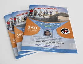 nº 40 pour A4 Flyer for Church Youth and Young Adult Camp par ahmadafif76