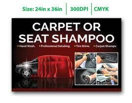 """#25 untuk Sign/Poster for """"Carpet or Seat Shampoo"""" oleh owakkas"""