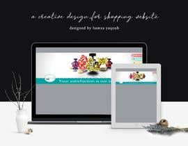 #3 for create a creative design for shopping website. by Hamzayaqoub