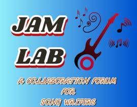 #29 untuk I need an identity / logo designed with a tag line. My picture is a guide and you don't need to use it. Title is 'Jam Lab' and Tagline is 'A Collaboration Forum for Songwriters'. I want something fresh, cool and sleek. oleh mesteroz