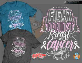 #23 for T shirt design for Breast Cancer fundraiser by GribertJvargas