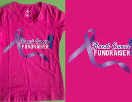 #12 for T shirt design for Breast Cancer fundraiser by rabbya57