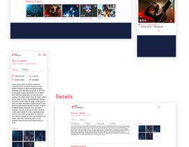 #5 untuk Design UI/UX for event ticketing web app (desktop & mobile) oleh JuliaKampf