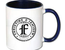 #118 for Wedding logo design for coffee mug. af bccomputer
