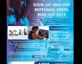 #16 for Announcement flier for fitness center opening af savitamane212