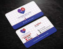 #104 para design double sided business card - WNY CPR por riakash48
