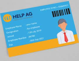 #57 untuk Create artwork for a ID card for our employees oleh Soumiksagor