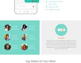 nº 16 pour Design of a landing page for DATING par saidesigner87
