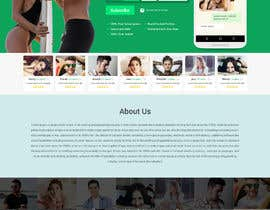 nº 20 pour Design of a landing page for DATING par sneha15112018