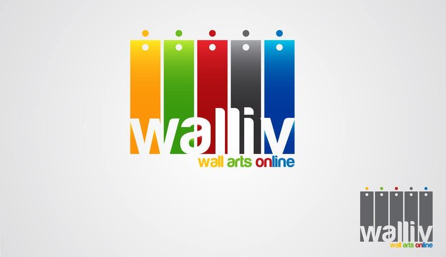 Konkurrenceindlæg #55 for Logo Design for wall arts online store