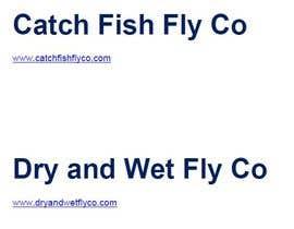 #87 untuk Brand Name for fly fishing gear/apparel company. oleh mvamva