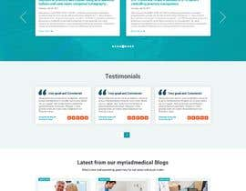 #34 for Home Page Design for Website by nikil02an