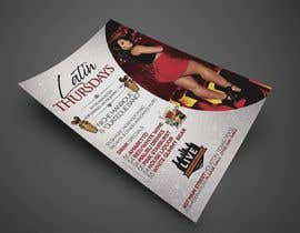 nº 25 pour Flyer for Bar Latin Night & Ladies night par oneweydesigns