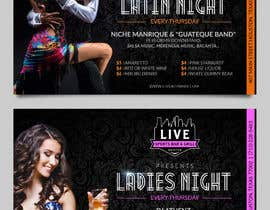 nº 21 pour Flyer for Bar Latin Night & Ladies night par zhoocka