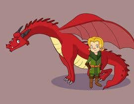 #52 cho Illustration of Linus & Dragon bởi AliOsama17