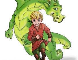 #48 cho Illustration of Linus & Dragon bởi paezmiguel569