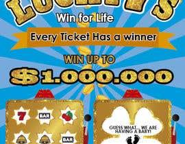 nº 24 pour Designing a Lotto Ticket par yami22hj