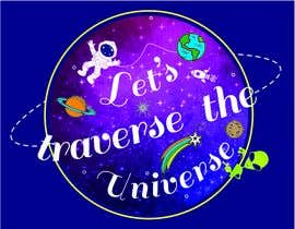 #7 for logo & coloring sheet - Let's Traverse the Universe by apnchem