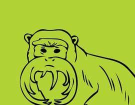 #2 untuk Make Cartoon Drawing of Face Of Tamarin Monkey oleh a2zsoftwarebd