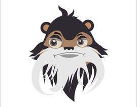 #14 untuk Make Cartoon Drawing of Face Of Tamarin Monkey oleh naythontio