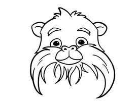 #16 untuk Make Cartoon Drawing of Face Of Tamarin Monkey oleh graciatjendera