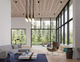 nº 11 pour Blender living room & interior 3D Design par beehive3dworks